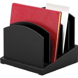 Victor Midnight Black Incline File Sorter - File Folders & Wallets