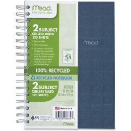 Mead 06674 Recycled Notebook - Notebooks