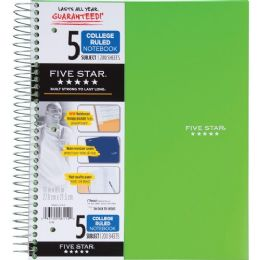 Mead 5-Subject Trend Notebook - Notebooks