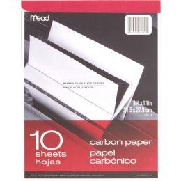 Mead Carbon Paper Tablet - Paper