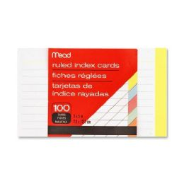 Mead Colored Index Card - Office Supplies
