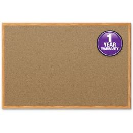 Mead Cork Surface Bulletin Board - Bulletin Boards & Push Pins