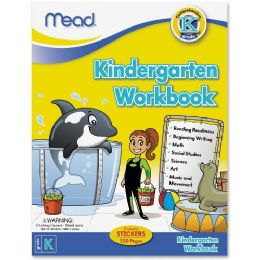 180 Units of Mead Kindergarten Comprehensive Workbook Education Printed Book for Science/Mathematics/Social Studies - Office Supplies