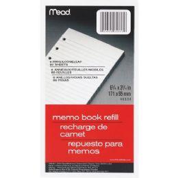 Mead Memo Book Refill Paper - Paper