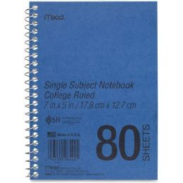 Mead Mid Tier Single Subject Notebook - Notebooks