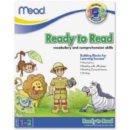 456 Units of Mead Ready to Read Workbook Grades 1-2 Education Printed Book - Office Supplies