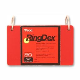 Mead RingDex Index Card - Office Supplies