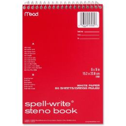 MeadWestvaco Spell-Write Steno Book - Office Supplies