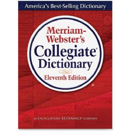 Merriam-Webster 11th Ed. Collegiate Dictionary Dictionary Printed/Electronic Book - English - Office Supplies