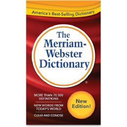 Merriam-Webster Dictionary Dictionary Printed Book - Office Supplies