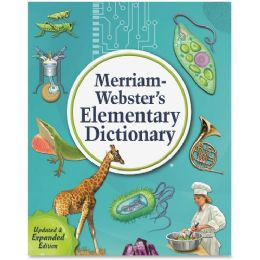 Merriam-Webster Elementary Dictionary Dictionary Printed Book - English - Office Supplies