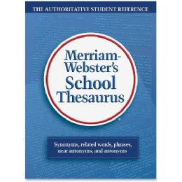 140 Units of Merriam-Webster Grade 9-11 School Thesaurus Education Printed Book - English - Office Supplies