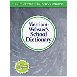Merriam-Webster School Dictionary Dictionary Printed Book - English - Office Supplies