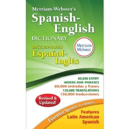 Merriam-Webster Spanish-English Dictionary Dictionary Printed Book - Spanish, English - Office Supplies