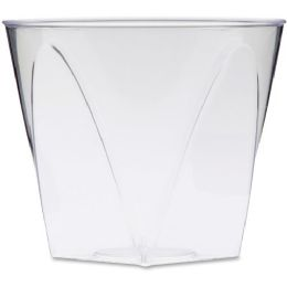 675 Units of Milan Crystal Square Tumblers - Office Supplies