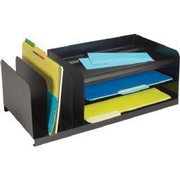 12 Units of MMF 7-Compartment Legal-Size Organizer - Organizer