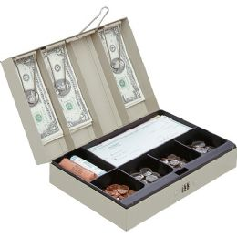 MMF Cash Box with Combination Lock - Office Clipboards