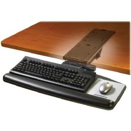 3M Easy Height Adjustable Keyboard Tray - Office Supplies