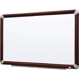3M Elegant Style Melamine Dry Erase Board - Dry erase