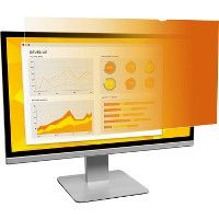 """3M GPF19.0W Gold Privacy Filter for Widescreen Desktop LCD Monitor 19.0"""" - Office Supplies"""