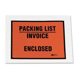 100 Units of 3M Packing List/Invoice Enclosed Envelope - Envelopes