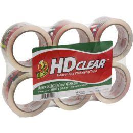 Duck HD Clear Heavy-Duty Packaging Tape - Tape & Tape Dispensers