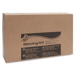 7 Units of Duck Moving Kit with Bubble Wrap - Office Supplies