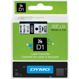 Dymo Black on White D1 Label Tape - Labels