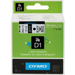 Dymo Black on White D1 Label Tape - Labels