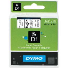 """Dymo D1 43610 0.25"""" Tape - Tape & Tape Dispensers"""