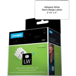 Dymo Name Badge Label With Clip Hole - Labels
