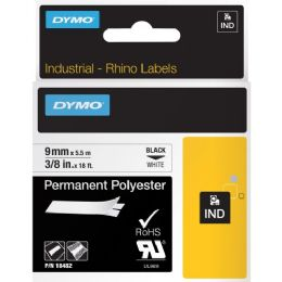 Dymo RhinoPRO 5000 Permanent Wire and Cable Label Tape - Cable wire