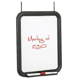 Safco Melamine Panel Dry Erase Markerboard W/ Tray - Dry erase