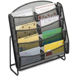 Safco Mesh Business Card Holder - Business cards
