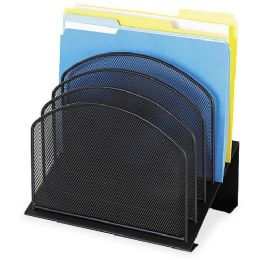Safco Mesh Desk Desk Organizer - Office Supplies