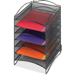 Safco Mesh Desktop Organizer - Office Supplies