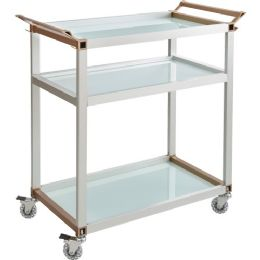 Safco Mobile Beverage Cart - Office Supplies