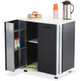 Safco Mobile Refreshment Stand - Office Supplies