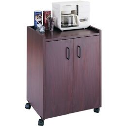 Safco Mobile Refreshment Utility Cart - Office Supplies