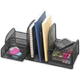 Safco Multipurpose Mesh Desktop Organizer - Office Supplies