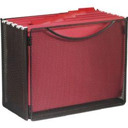 Safco Onyx Mesh Desktop Box File - File Folders & Wallets