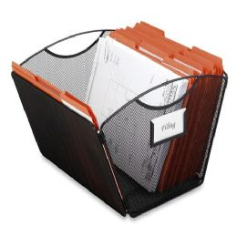 30 Units of Safco Onyx Mesh Desktop Tub File - File Folders & Wallets