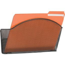 Safco Onyx Mesh Wall Pocket - Office Supplies