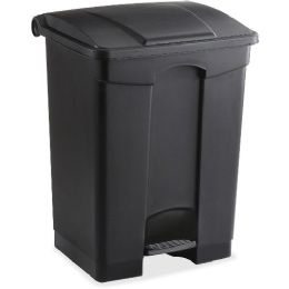 Safco Plastic Step-on Receptable - Janitorial Supplies