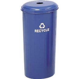 Safco Recycling Receptacle with Lid - Janitorial Supplies