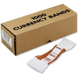 200 Units of MMF Currency Strap - Office Supplies
