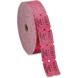 30 Units of MMF Double Ticket Roll - Office Supplies