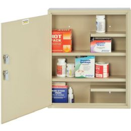 MMF Dual Locking Medical Narcotics Cabinet - Storage and Organization