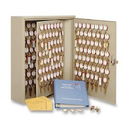 9 Units of MMF Dupli-Key Two-Tag Key Cabinet for 30 Keys - Tags