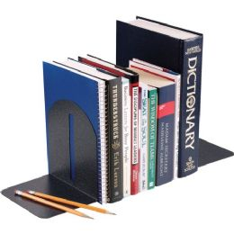 144 Units of MMF Fashion Steel Bookend - Office Supplies